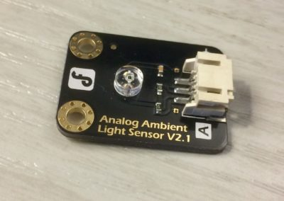 Analog Ambient Light Sensor V2.1 from DRobot.