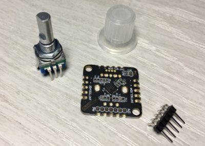 I2C Encoder V2.1 kit from DuPPa.